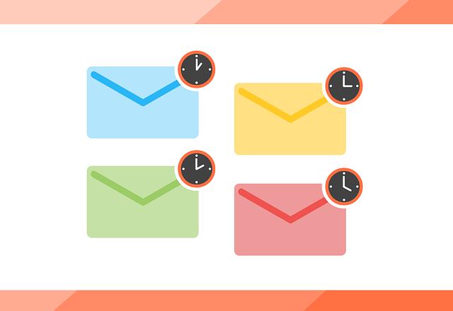 メルマガの配信時間を変更し、読者の反応率が高い時間帯に配信